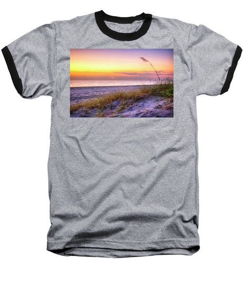 Baseball T-Shirt featuring the photograph Alone At Dawn by Debra and Dave Vanderlaan
