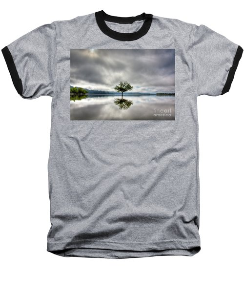 Baseball T-Shirt featuring the photograph Alone by Douglas Stucky