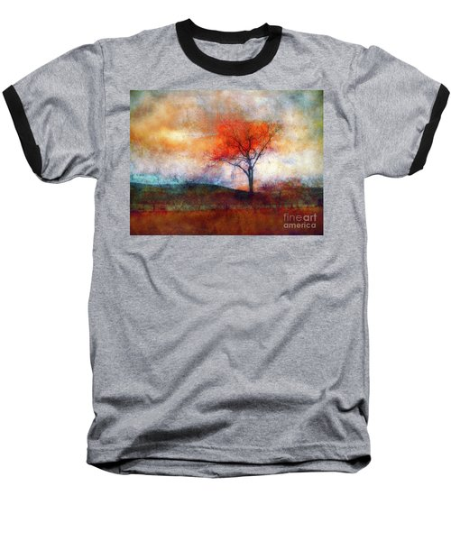 Alone In Colour Baseball T-Shirt