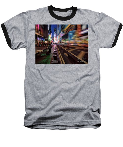 Alone In New York City 2 Baseball T-Shirt