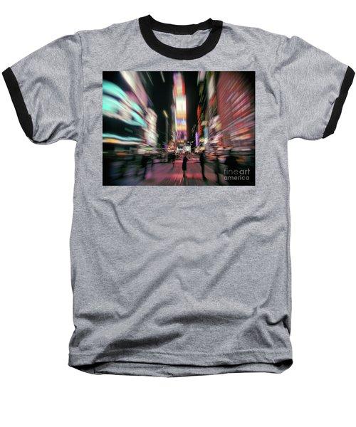 Alone In New York City 3 Baseball T-Shirt