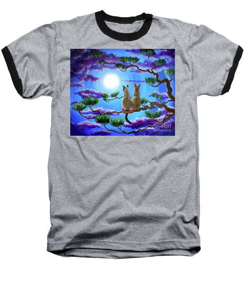 Alone In The Treetops Baseball T-Shirt
