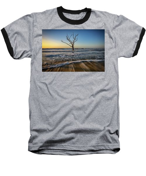 Baseball T-Shirt featuring the photograph Alone In The Water by Rick Berk