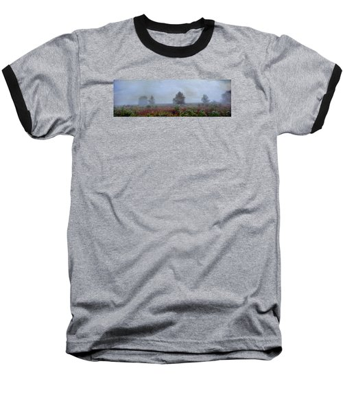 Alone On A Hill Baseball T-Shirt by John Rivera