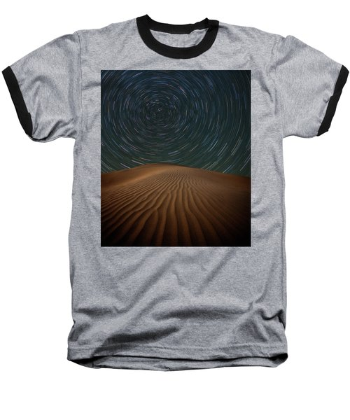 Baseball T-Shirt featuring the photograph Alone On The Dunes by Darren White