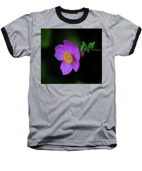 Anenome Purple Baseball T-Shirt