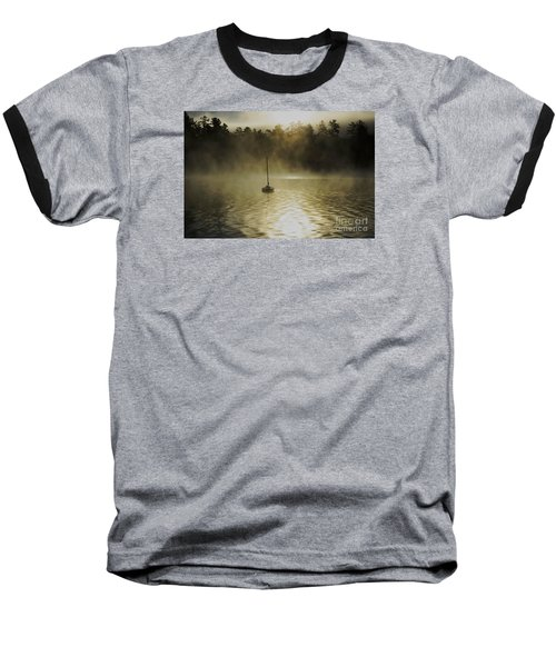Alone Baseball T-Shirt by Sherman Perry