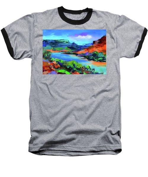 Along Colorado River - Utah Baseball T-Shirt
