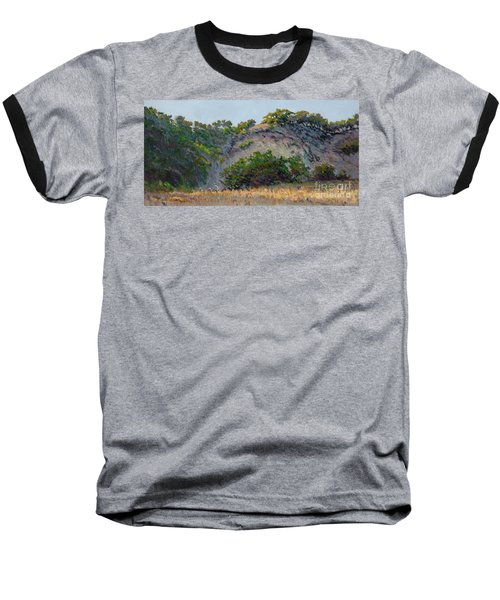 Along Jalama Creek Baseball T-Shirt