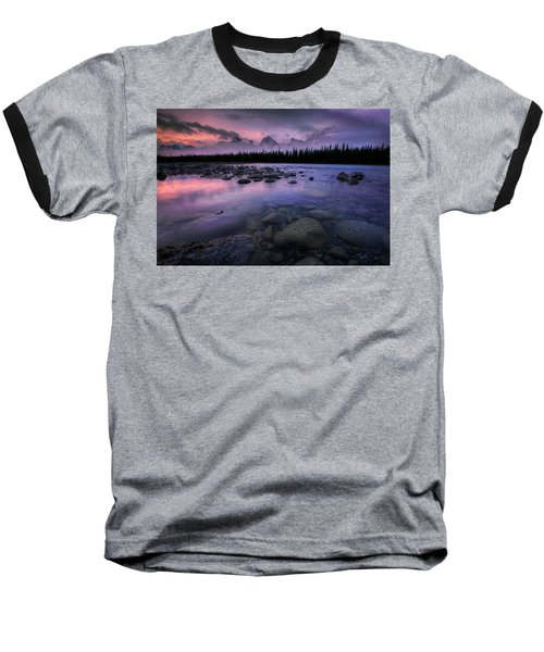 Along The Athabasca Baseball T-Shirt