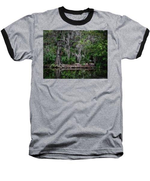 Along The Bank Baseball T-Shirt