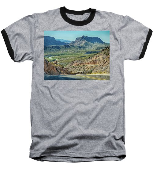 Along The Border Baseball T-Shirt