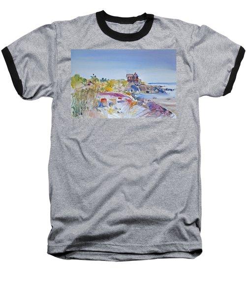 Along The Coast Baseball T-Shirt by P Anthony Visco
