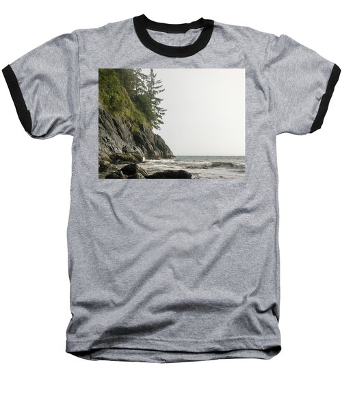Along The Coast Baseball T-Shirt