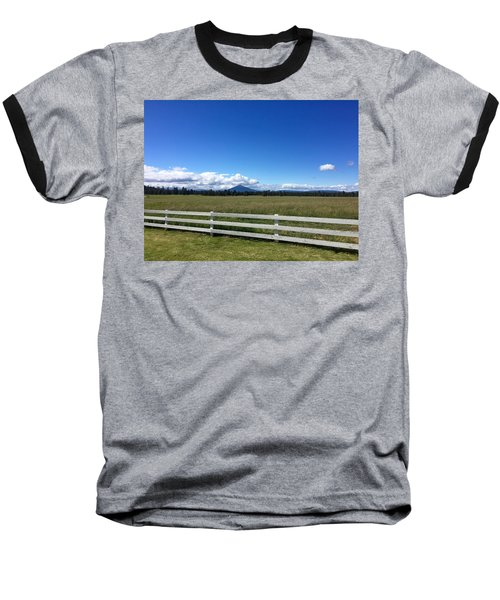 Along The Fence Line Baseball T-Shirt