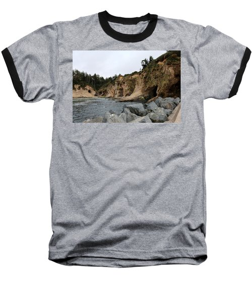 Along The Oregon Coast  Baseball T-Shirt