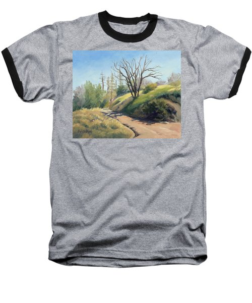 Along The Pacific Crest Trail Baseball T-Shirt
