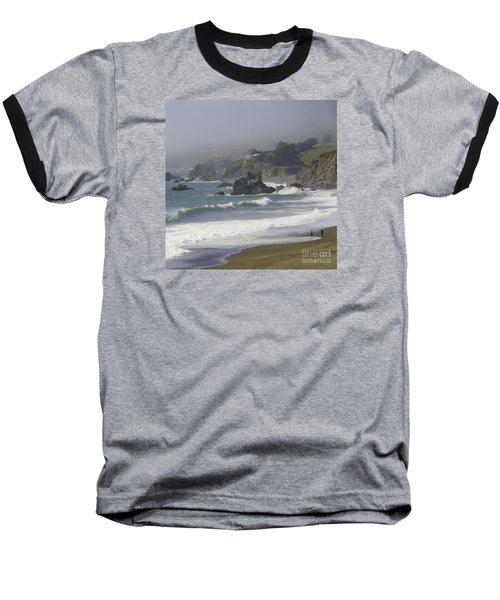 Along The Pacific #2 Baseball T-Shirt