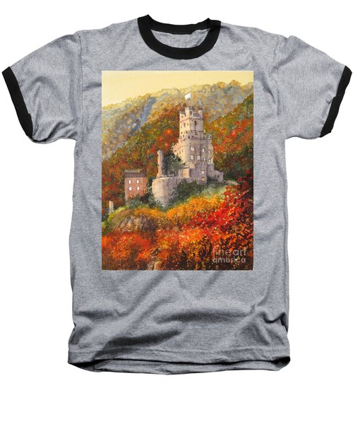 Along The Rhine I Baseball T-Shirt