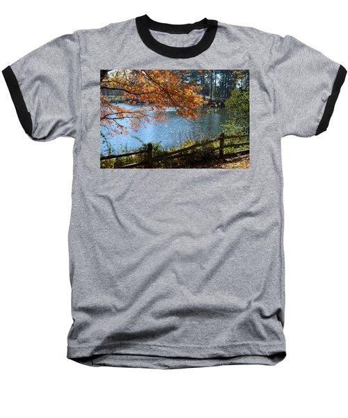 Along The Road Baseball T-Shirt