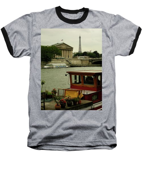 Along The Seine Baseball T-Shirt