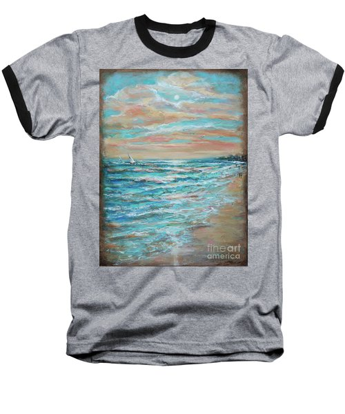 Along The Shore Baseball T-Shirt