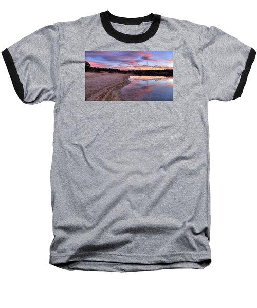 Along The Shoreline Baseball T-Shirt
