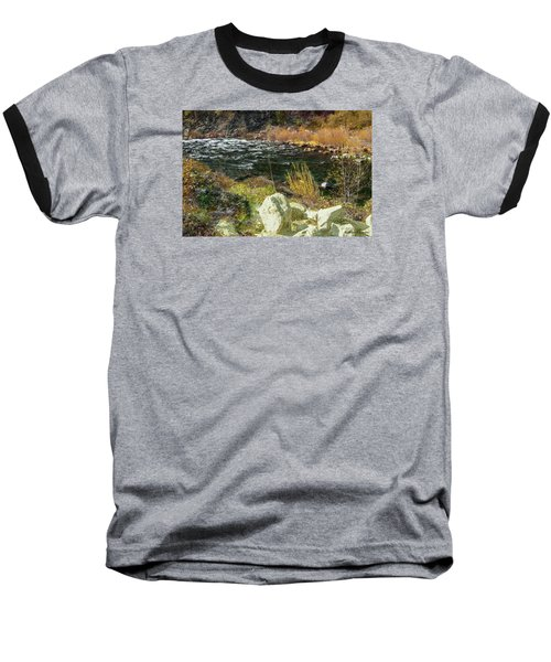 Along The Stream Baseball T-Shirt