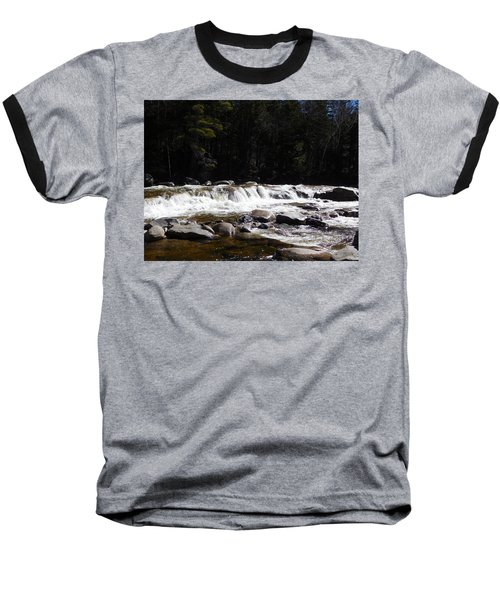 Along The Swift River Baseball T-Shirt by Catherine Gagne