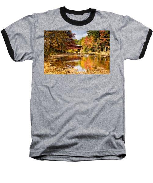 Along The Swift River Baseball T-Shirt