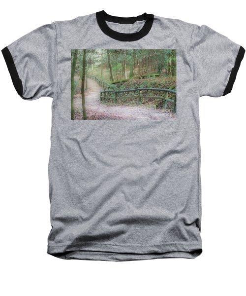 Along The Trail, Life Happens Baseball T-Shirt