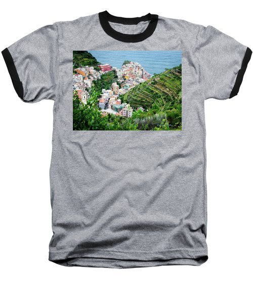 Along The Via Del Amore Baseball T-Shirt by William Beuther
