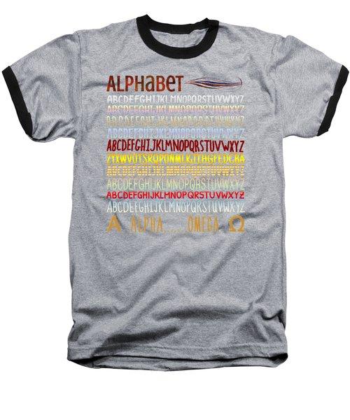 Alphabet Baseball T-Shirt
