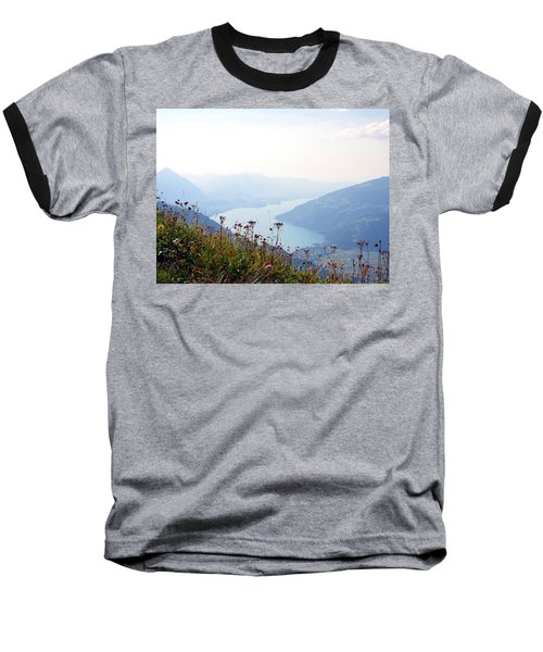 Alpine Flora On Top Of Schynige Platte Baseball T-Shirt