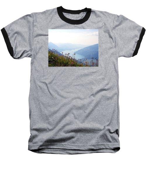Alpine Flora On Top Of Schynige Platte Baseball T-Shirt