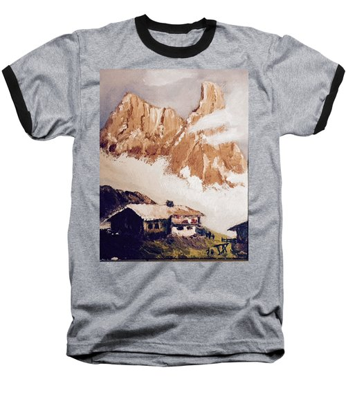 Alpine Home  Baseball T-Shirt
