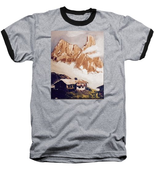 Alpine Home  Baseball T-Shirt
