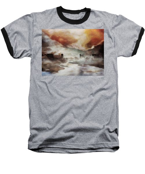 Alpine Landscape Baseball T-Shirt