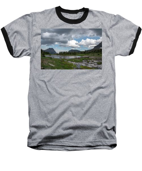 Alpine Oasis Baseball T-Shirt