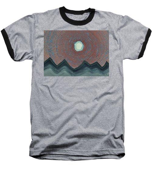 Alpine Resonance Original Painting Baseball T-Shirt