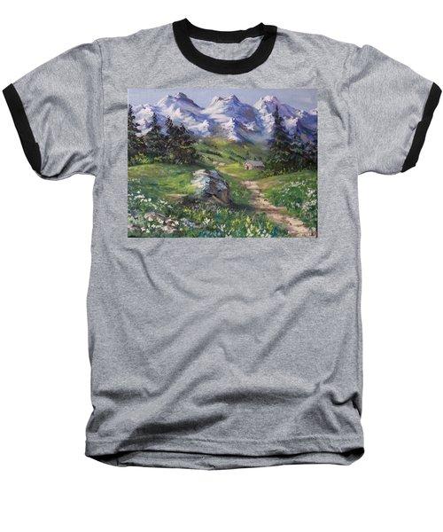 Alpine Splendor Baseball T-Shirt