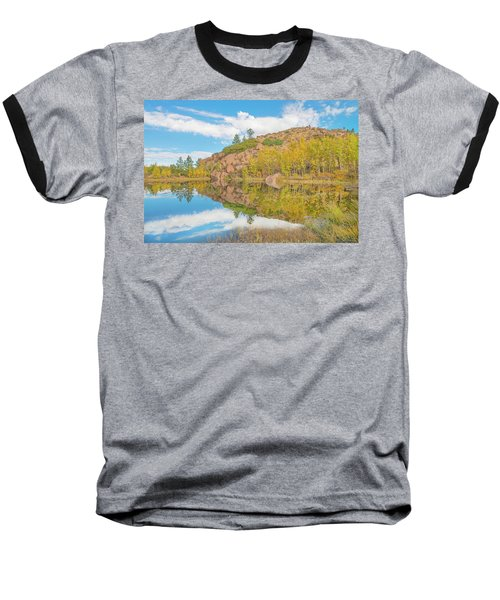 Alpine Vale Reflection  Baseball T-Shirt