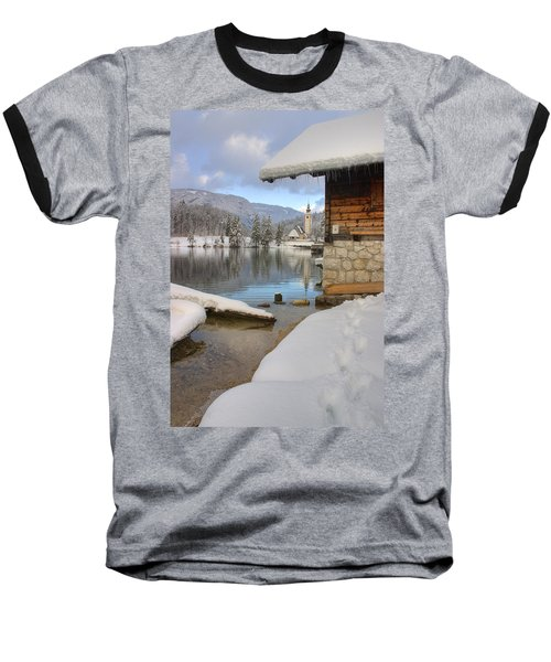 Alpine Winter Clarity Baseball T-Shirt