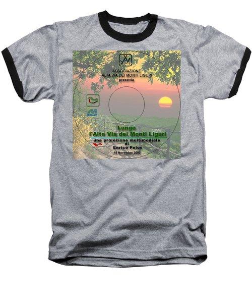 Alta Via Dei Monti Liguri Cd Cover Baseball T-Shirt