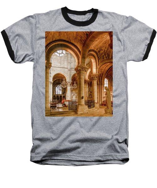 Poissy, France - Altar, Notre-dame De Poissy Baseball T-Shirt