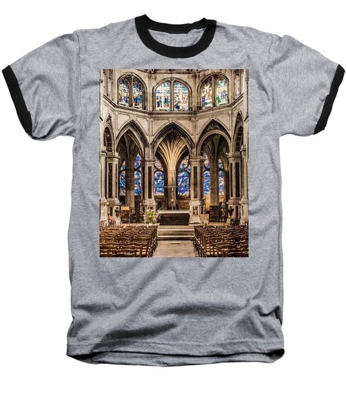 Paris, France - Altar - Saint-severin Baseball T-Shirt