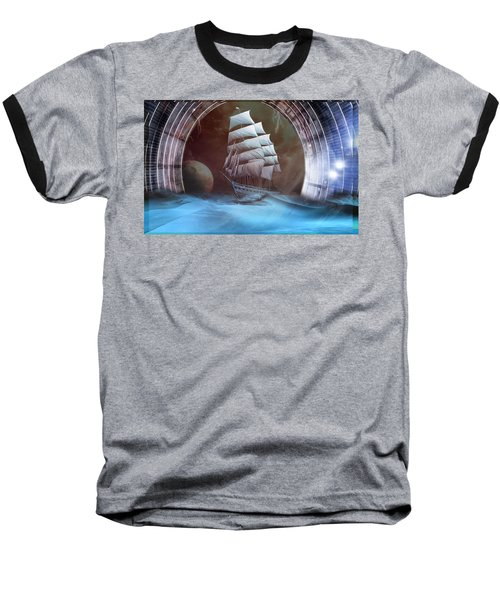 Alternate Perspectives Baseball T-Shirt by Mario Carini