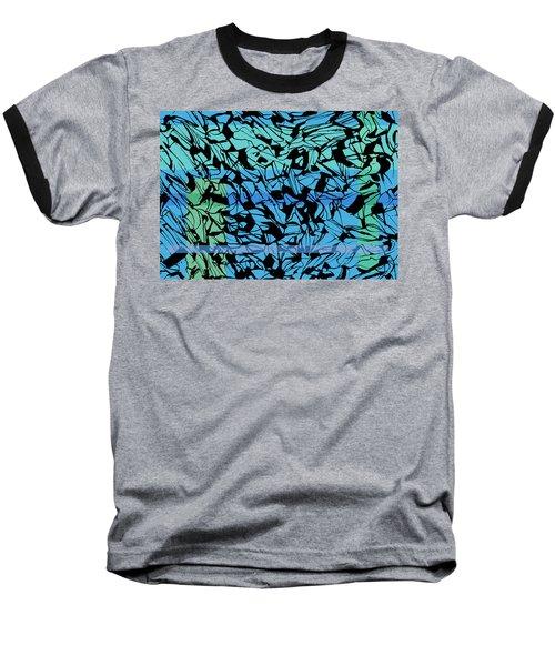 Alternate Topography 3 Baseball T-Shirt