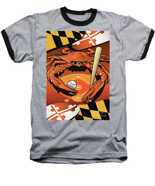 Baltimore Orioles Baseball Crab Maryland Baseball T-Shirt