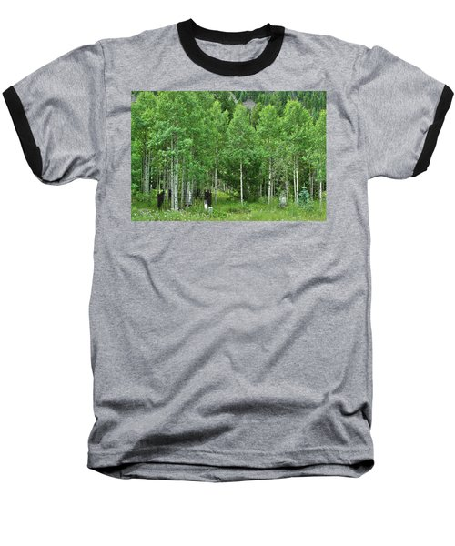Baseball T-Shirt featuring the photograph Alvarado Summer by Marie Leslie